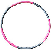 Andrew James Fitness Weighted Hula Hoop in Pink