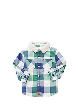 F&F Borg Lined Checked Shirt - Multi