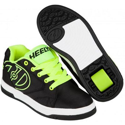 Heelys Propel 2.0 Black/Bright Yellow/Ballistic Kids Heely Shoe JNR 13