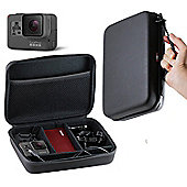 Navitech Charcoal Grey Heavy Duty Rugged Slim Line Action Cam Case / Cover For The GoPro Hero 5