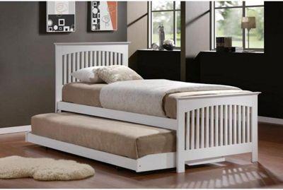 Birlea Toronto Bed Frame - White