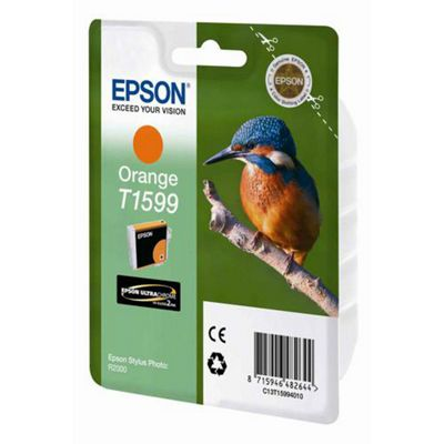 Epson Kingfisher T1599 UltraChrome Hi-Gloss2 Orange Ink Cartridge for Epson Stylus Photo R2000