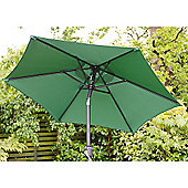 Cambridge 2m Crank And Tilt Garden Parasol Green
