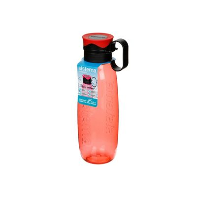 Sistema Tritan Traverse Bottle, 650ml Orange