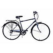 "Professional Regent 700c Mens 18 Speed Hybrid 16"" Frame Bike"