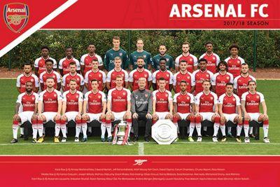Arsenal FC (Team 17/18) AFC Poster 61x91.5cm