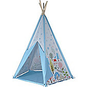 Teepee Play Tent - Blue