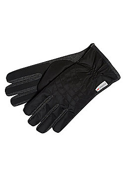 """F&F Waterproof Fan-Tex® Gloves with Thinsulate""""™ - Black"""