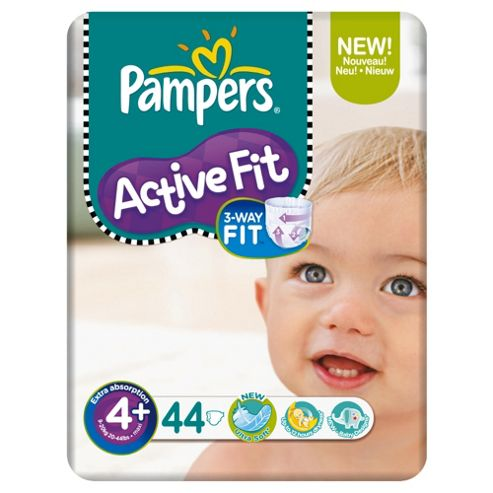 Pampers Active Fit Economy Pack Maxi 44 (Size 4+)