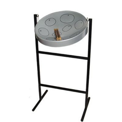 Jumbie Jam Steel Pan in Grey
