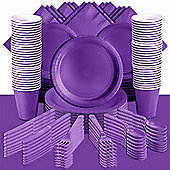 Purple Deluxe Party Pack for 100