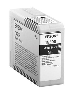 Epson T850800 80ml Matte black ink cartridge
