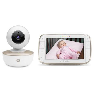 Motorola MBP855 Wi-Fi Connect Video Baby Monitor