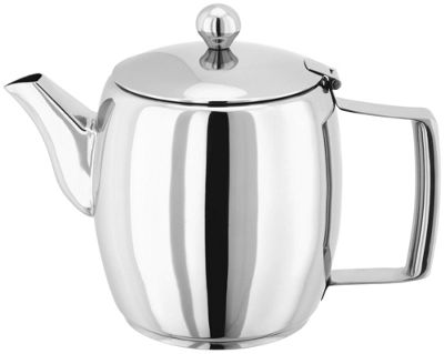 Judge Stainless Steel Thermic Base Stove Top Teapot 1.3 Litre