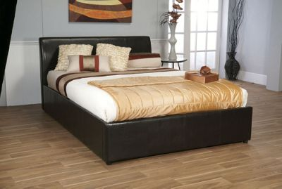 Limelight Galaxy Bedstead with Storage - Double