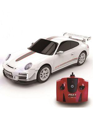 Porsche 911 White 1:24 Scale Radio Control Car