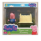 Peppa Pig Figure and Accessory (George W/Castle)