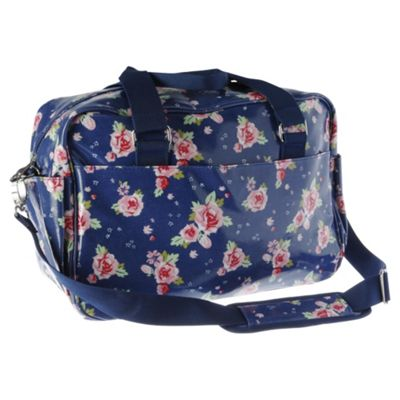 Buy Tesco Baby Changing Bag Blue Floral From Our Baby Changing Bags Range - Tesco