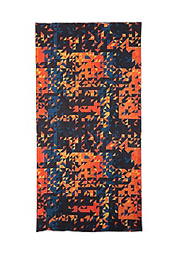 Mountain Warehouse Mens Breathable Neckwarmers Quick Drying - 48 x 24cm - Orange