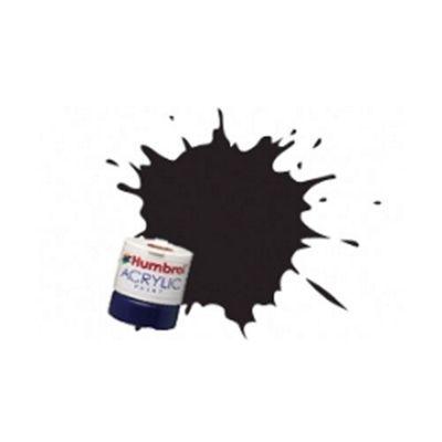 Humbrol Paint Dirty Black RC401 Acrylic Rail Paint