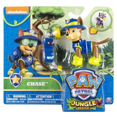 Paw Patrol Hero Pup Pack Jungle Rescue - Chase