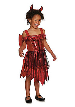F&F Devil Halloween Costume - Red