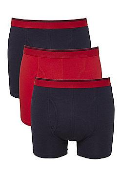 F&F 3 Pack of Trunks - Red