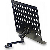 Stagg MUS-ARM 2 Large Music Stand Plate - Black