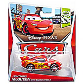 Disney Pixar Cars Diecast World Grand Prix Flash Lightning Mcqueen