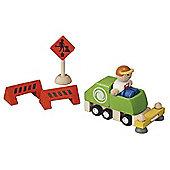 Plan Toys Street Cleaner Set - Toys/Games