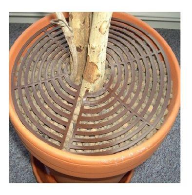 Safetots Plant Pot Soil Guard Brown