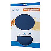 Manhattan 427203 Blue mouse pad Ergonomic Gel