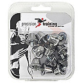 Precision Training Kite Marked Rugby Union Studs 18mm Sets