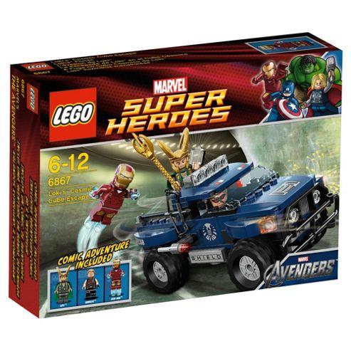 LEGO Superheroes The Avengers Loki's Cosmic Cube 6867