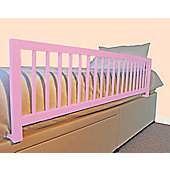 Safetots Extra Wide Wooden Bed Rail Pink
