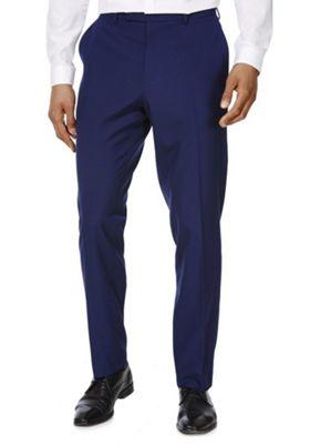 F&F Slim Fit Suit Trousers 30 Waist 29 Leg Cobalt