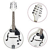 Rocket Electro Acoustic Mandolin - White
