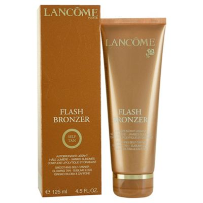 Lancome Flash Bronzer 125ml Self Tan Leg Gel