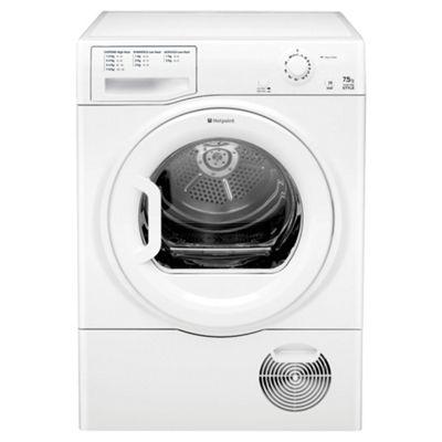 Hotpoint TCYM750C6P Condenser Tumble Dryer , 7.5kg Load, Polar