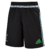 adidas Mens Harlequins Rugby 2015/16 Woven Shorts - All Sizes Available - Black