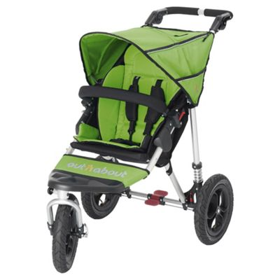 Out n About Nipper 360 Single Pushchair, Mojito Green
