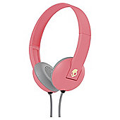 Skullcandy Uproar On Ear Headphones with TapTech Ill Coral and Cream