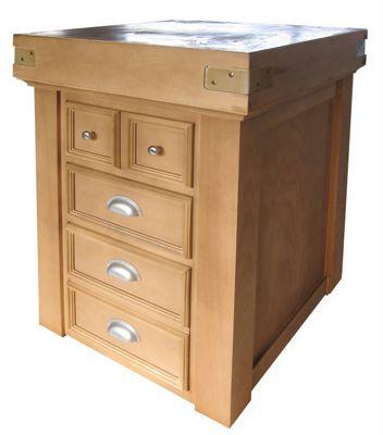 Chabret Traditional Drawers Block - 105cm X 60cm X 60cm
