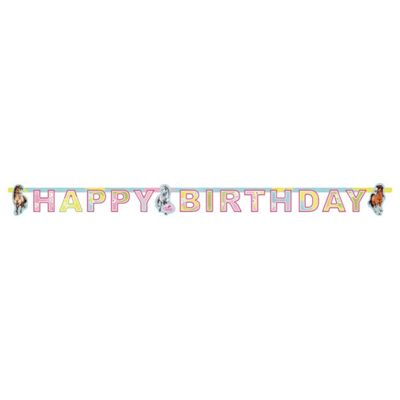 Charming Horses Party Letter Banner - 1.8m