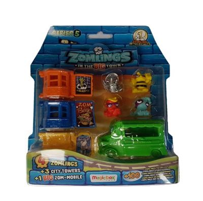 Zomlings In The Big Town Series 5 #Green Car