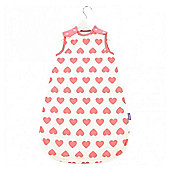 Babasac Multi TOG Baby Sleeping Bag - Heart 0-6 mths