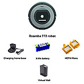 iRobot ROOMBA772 HEPA Pet Robot Vacuum Cleaner