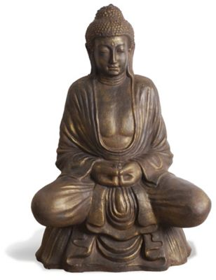 Oceans Apart Lotus Buddha in Burnished Green