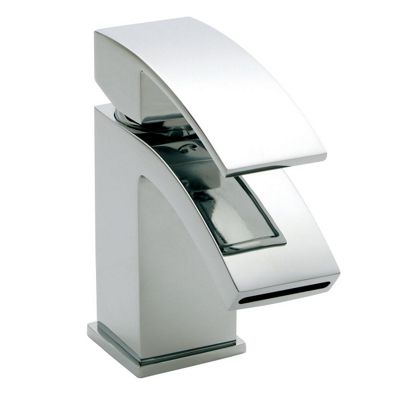 Ultra Vibe Mini Mono Basin Mixer without Waste Chrome