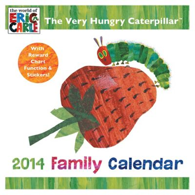 Hungry Caterpillar 2014 Reward Family Calendar with Stickers